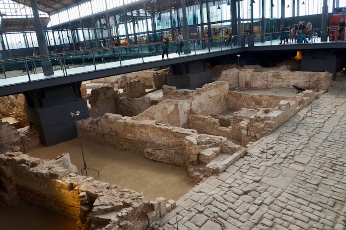 Archaeological Site in Born Barcelona