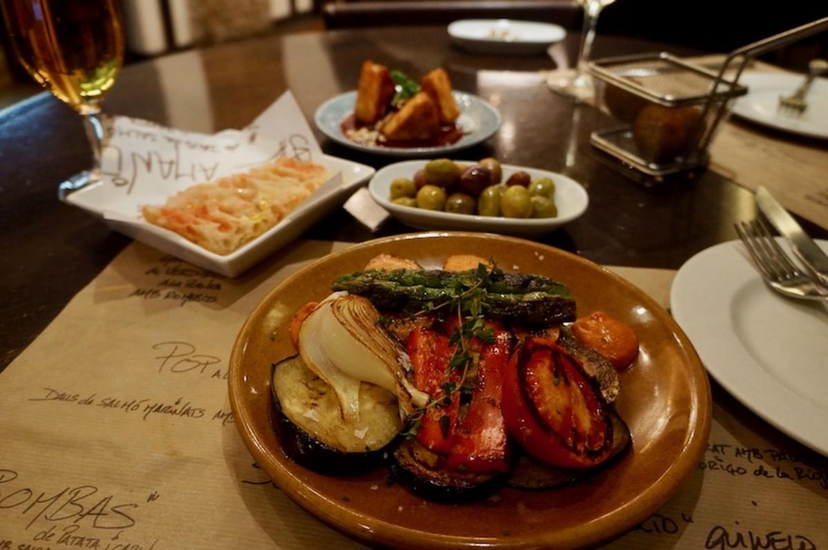Eating in Born Barcelona