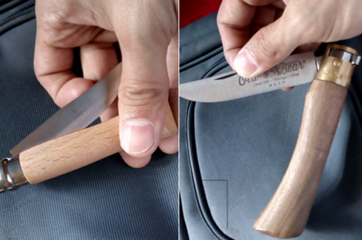 How to Open Your Opinel and Old Bear Knives With One Hand