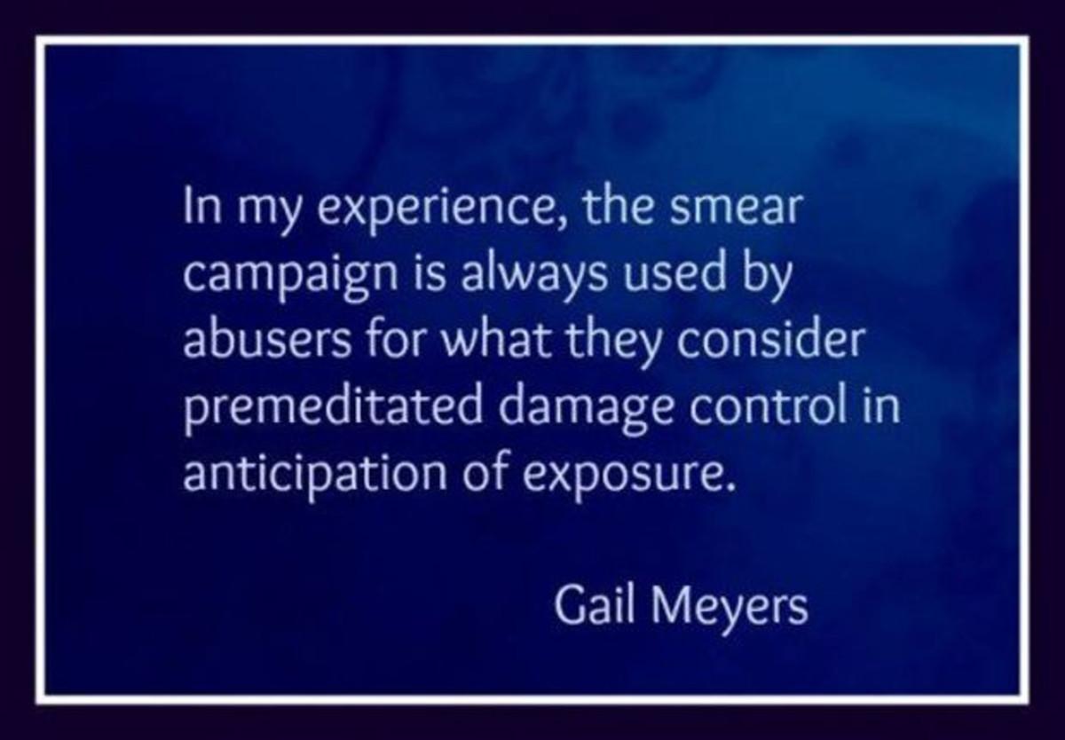 Smear Campaign Quote