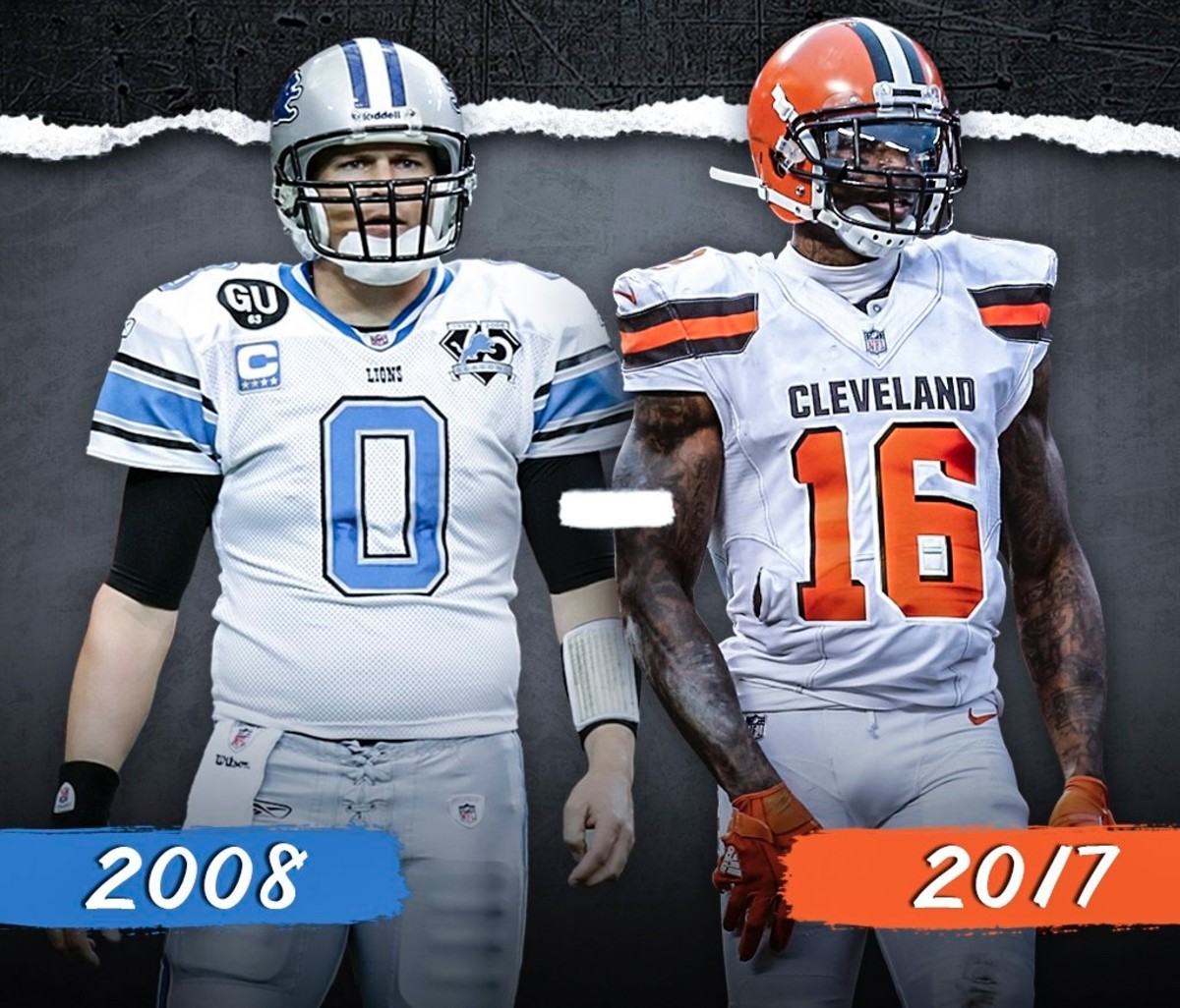 Who Was Worse? - 2017 Cleveland Browns vs 2008 Detroit Lions
