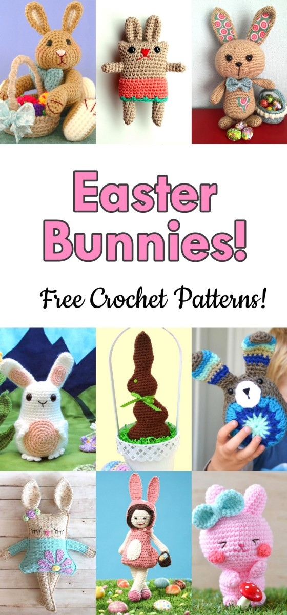 14 Free Easter Bunny Crochet Patterns Hubpages