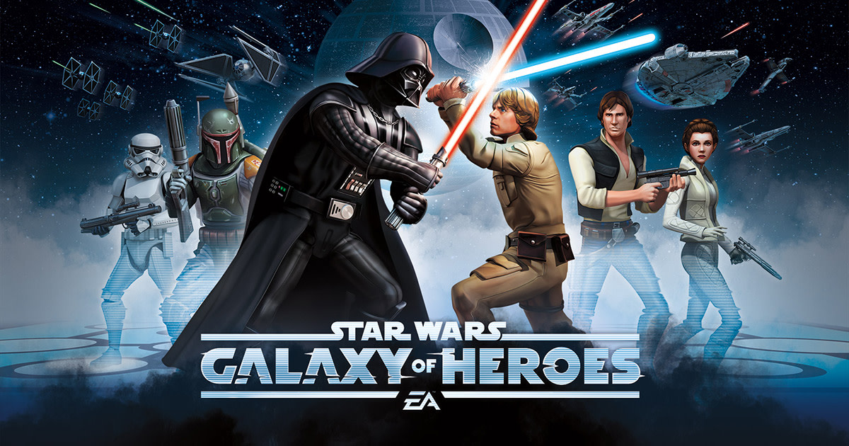 Star Wars Galaxy of Heroes (SWGOH): Mid-End Game Farming Guide