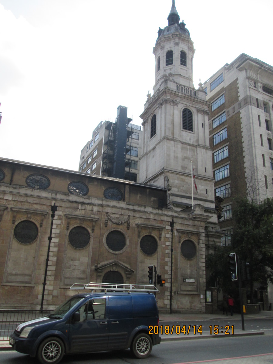The church of St Magnus the Martyr  on Lower Thames Street stands where the approach arch led onto Old London Bridge (read about St Magnus in the last of the VIKING series, and about London Bridge in an earlier HERITAGE page)