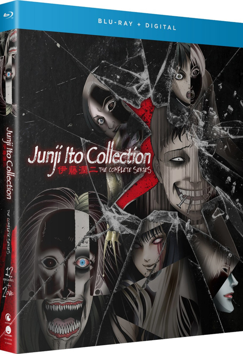 Junji Ito Collection Blu-ray cover.