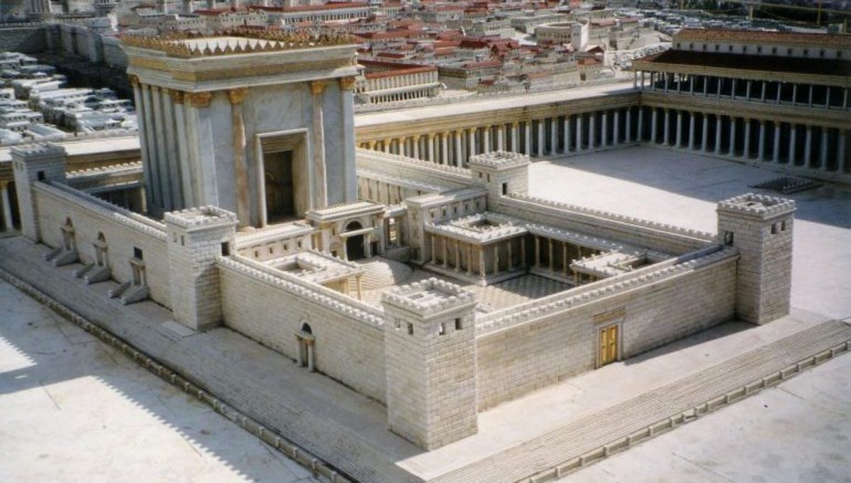 Bible Story of the Day: The Temple