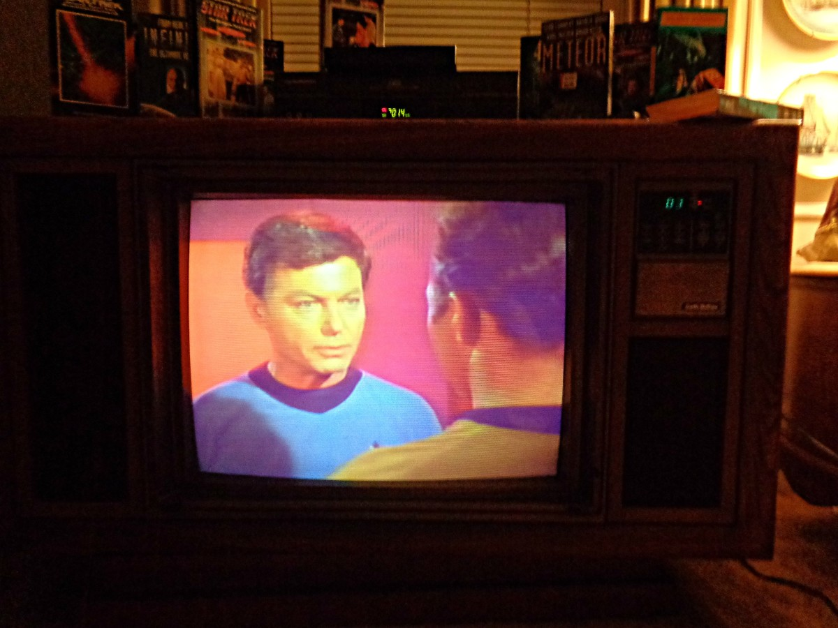 Dr, McCoy with tell you, this Curtis Mathes is Magical ... These televisions last & last ... Sometimes the owners have died, & the children are selling the home with the Curtis Mathes console still playing in the living room like it was showroom new.