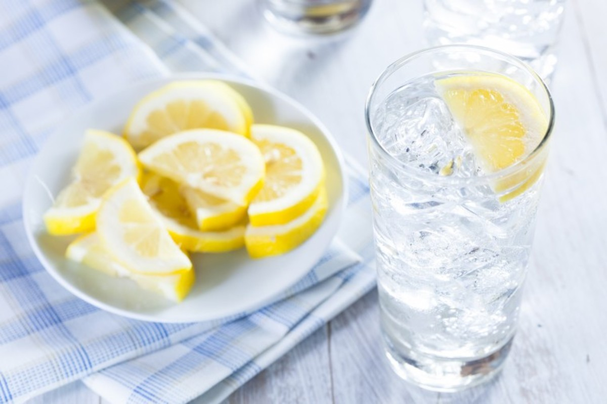 Water with lemon is free at restaurants