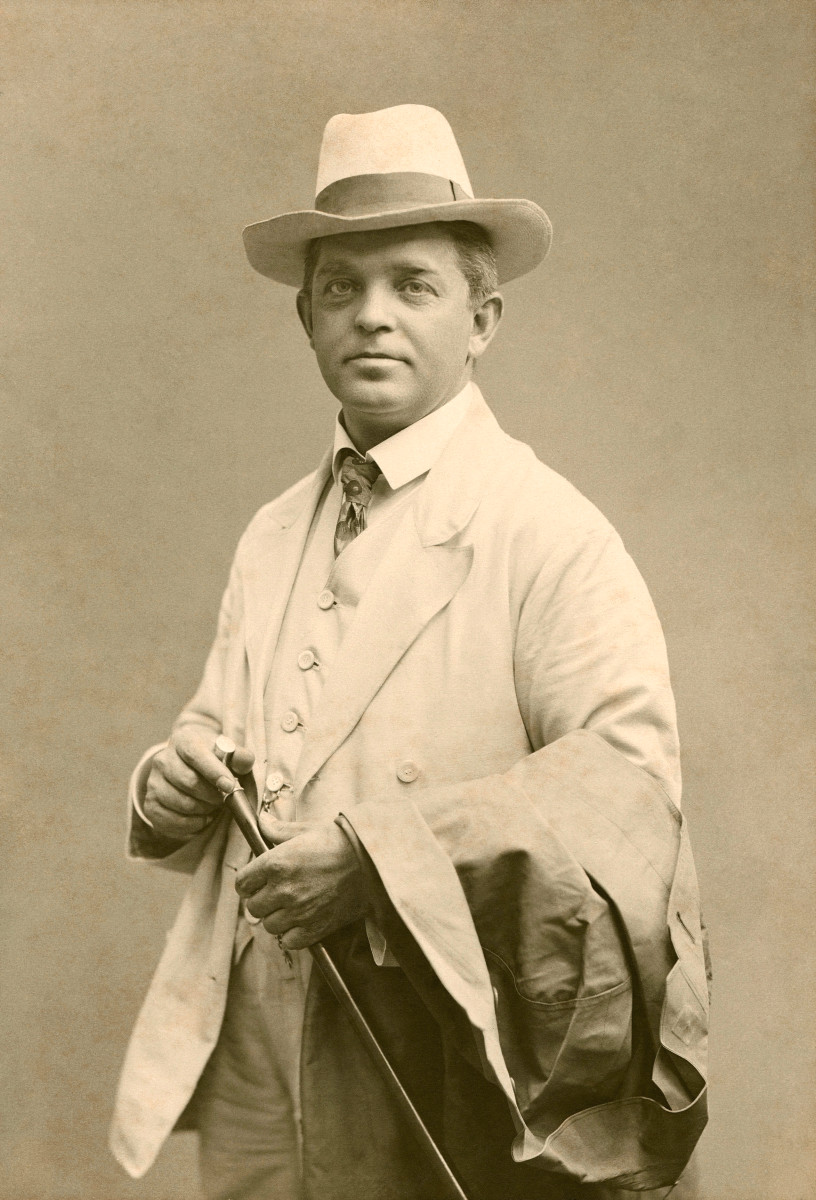 Photograph of Carl Neilson c1908.