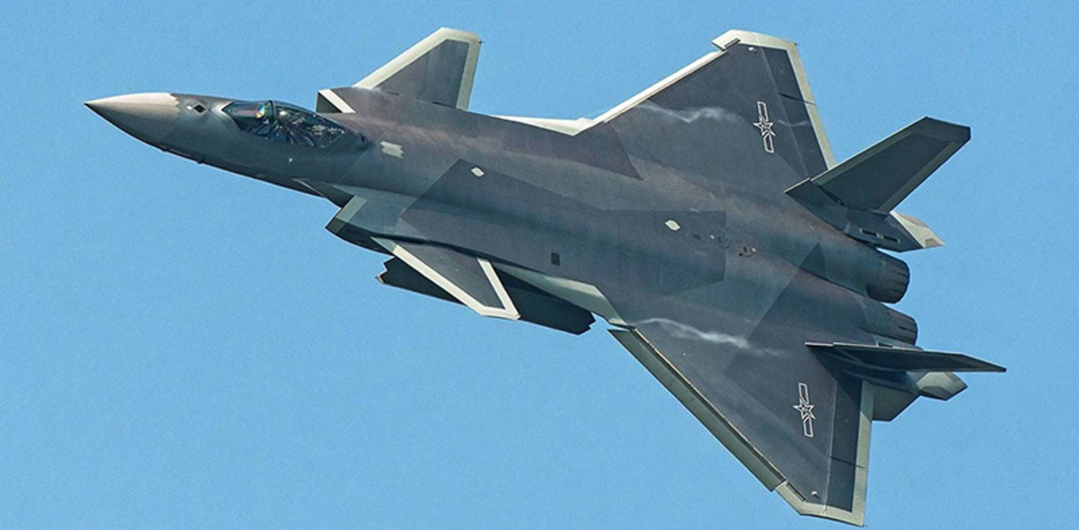 Chengdu J-20. The Chinese stealth jet.