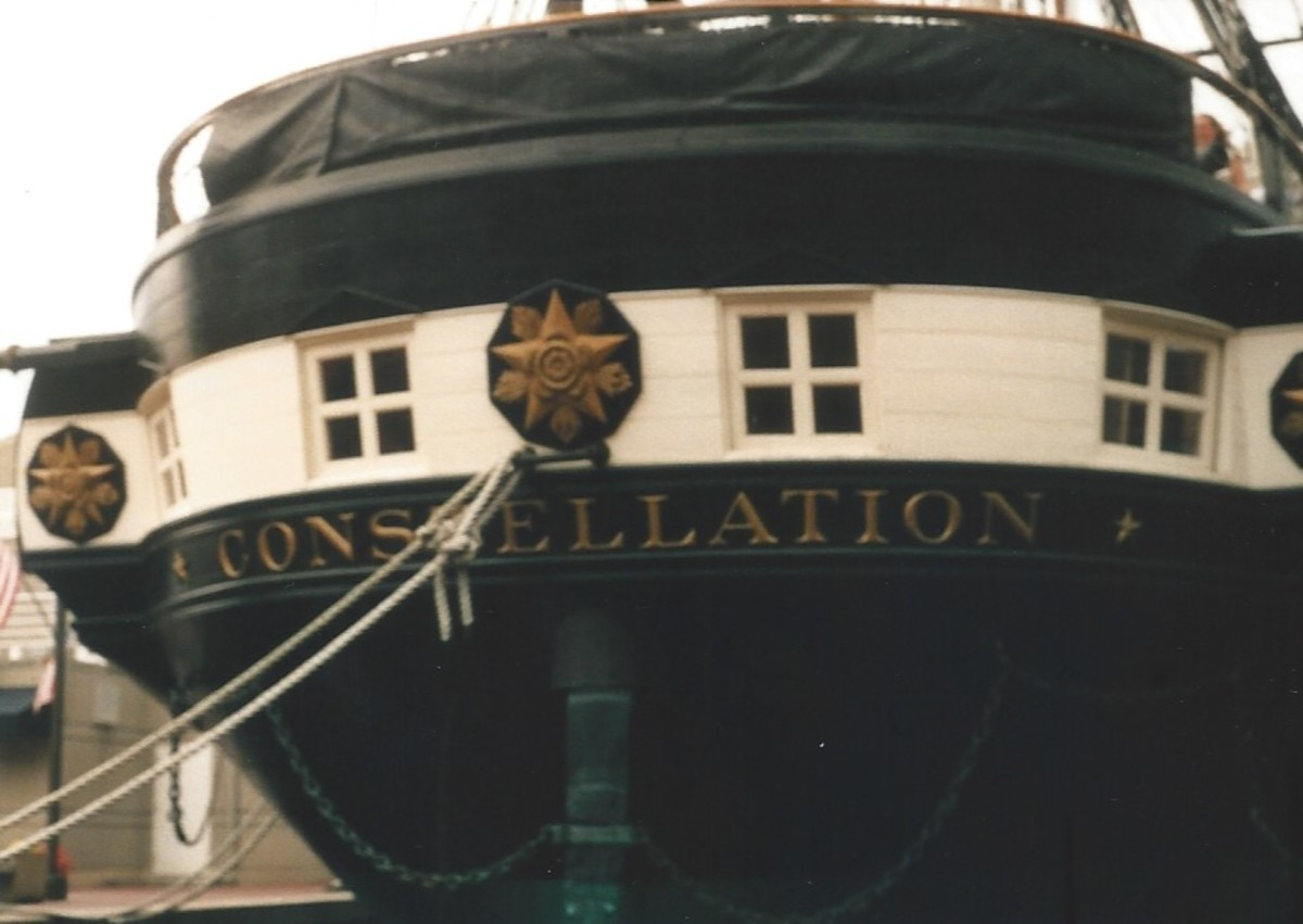 The USS Constellation