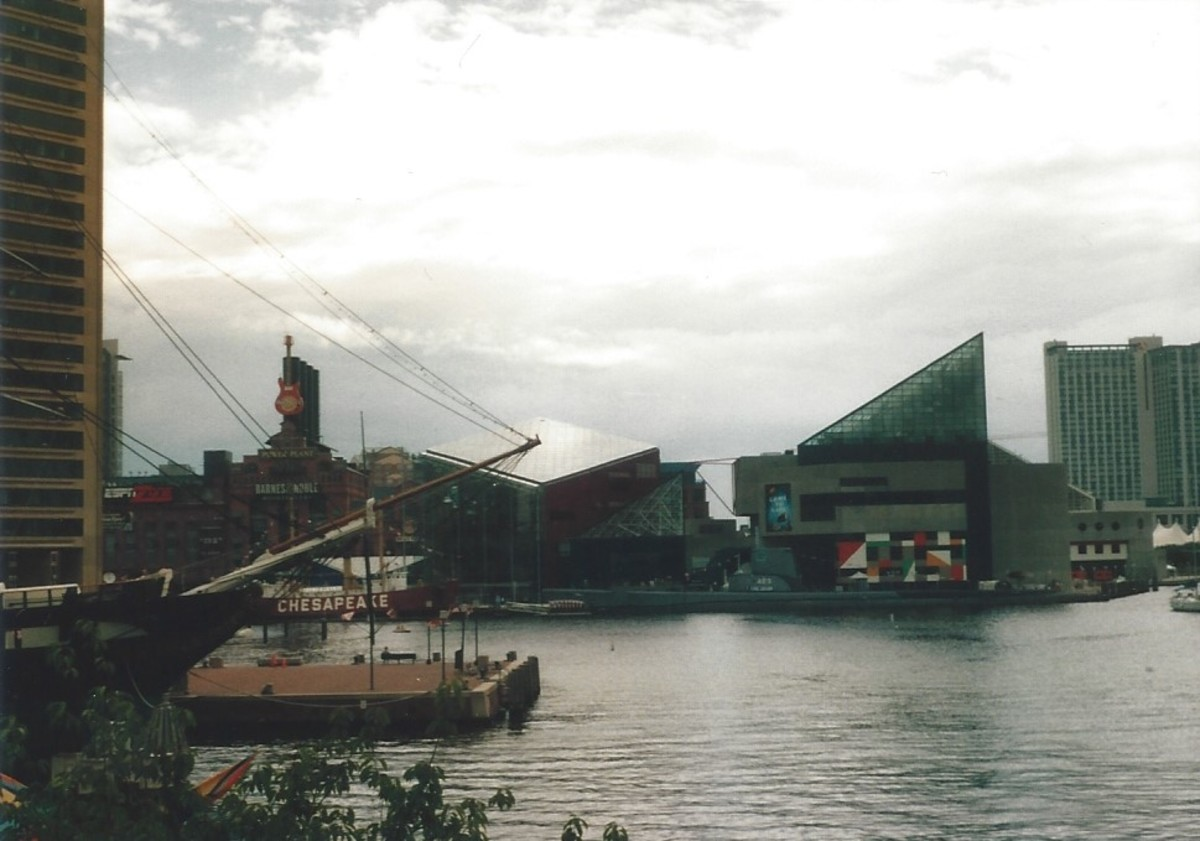 The Baltimore Inner Harbor