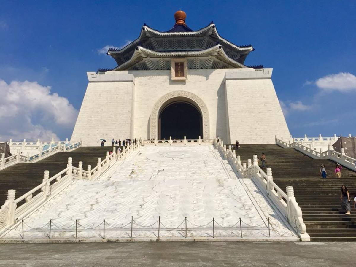 A Visit to the Popular Liberty Square in Taipei, Taiwan: The Chiang Kai Shek Memorial Hall