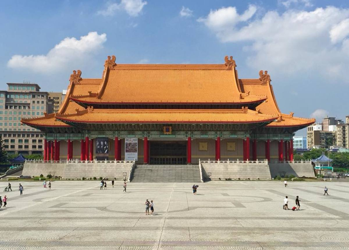 A Visit to the Popular Liberty Square in Taipei, Taiwan: The National Concert Hall