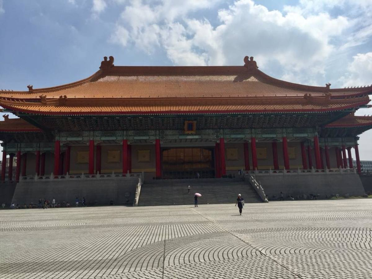 A Visit to the Popular Liberty Square in Taipei, Taiwan: The National Theater