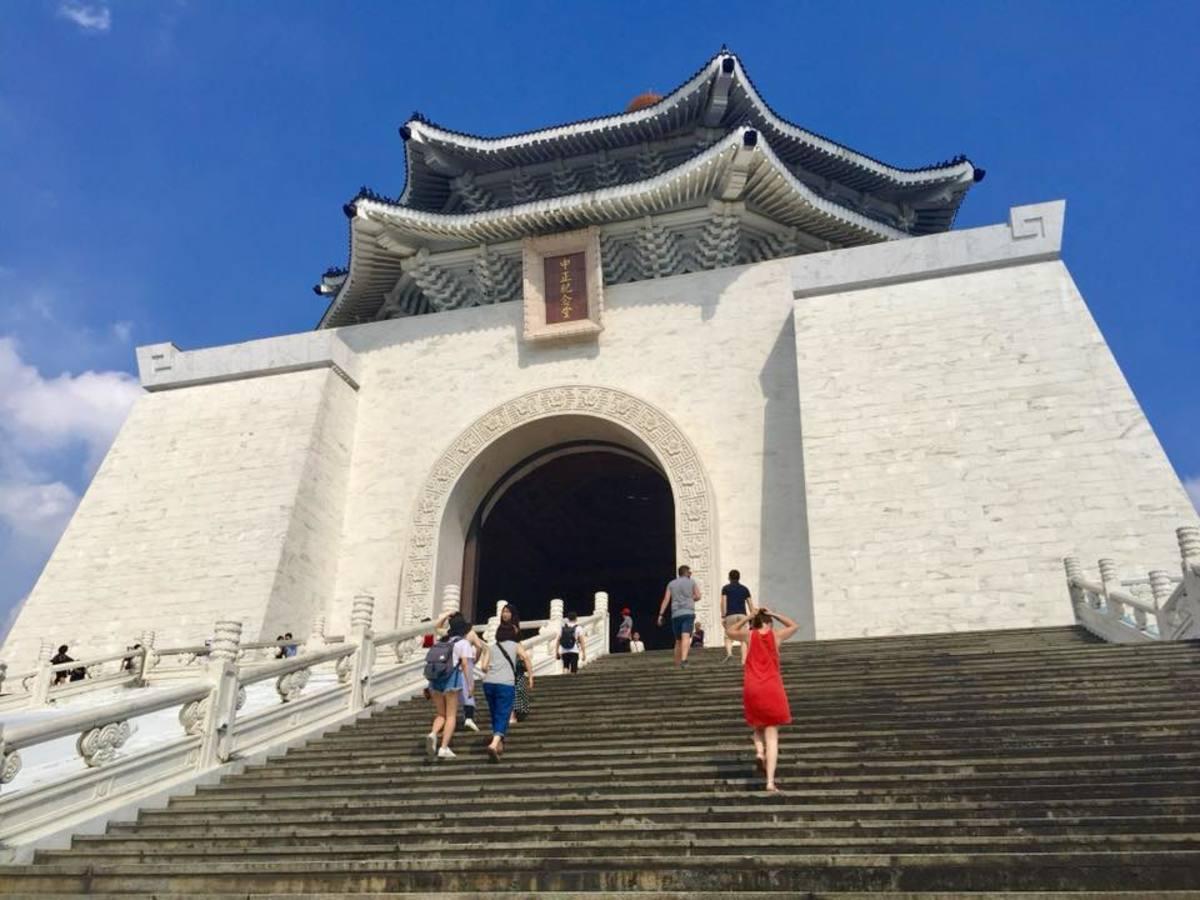 The National Chiang Kai Shek Memorial Hall at the Liberty Square
