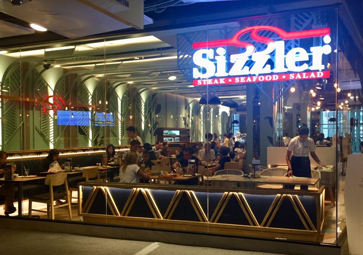 Sizzler at Central World, Pathumwan, Bangkok