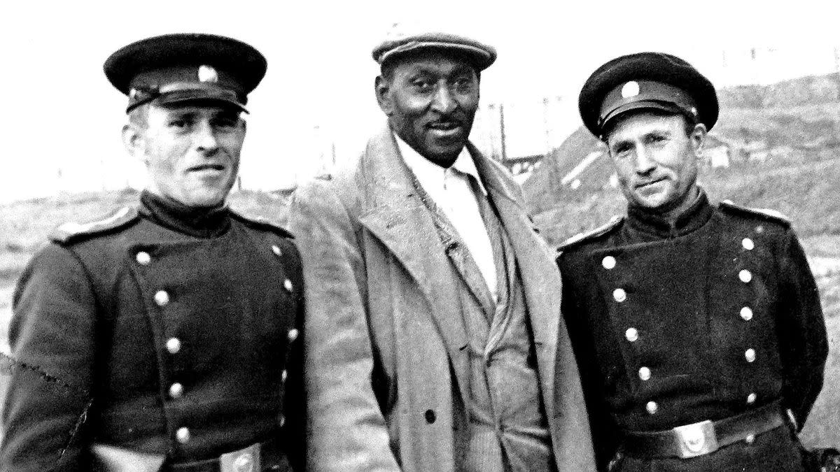 Black Americans were welcomed with open arms in the newly formed Soviet Union.