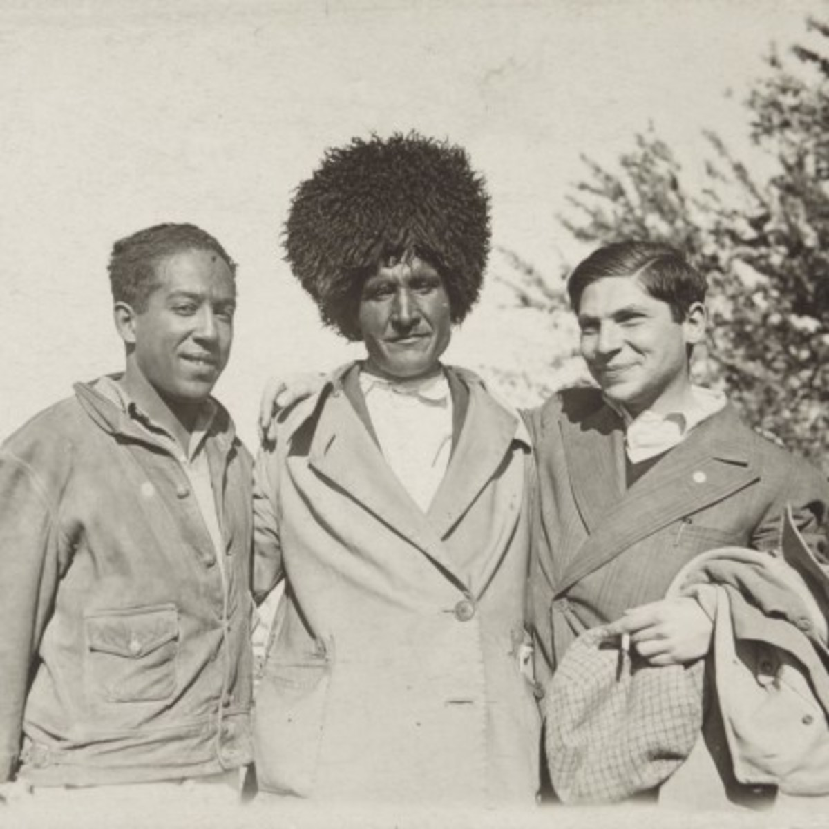 Langston Hughes enjoying life in his new home, Turkmenistan.