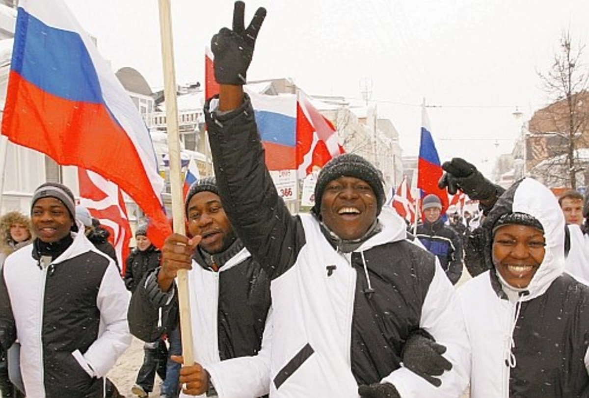 African Russians have not had the warm welcome of the past