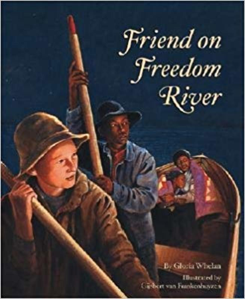 Friend on Freedom River (Tales of Young Americans) by Gloria Whelan