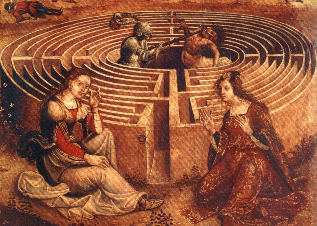 Two Kings and Two Labyrinths