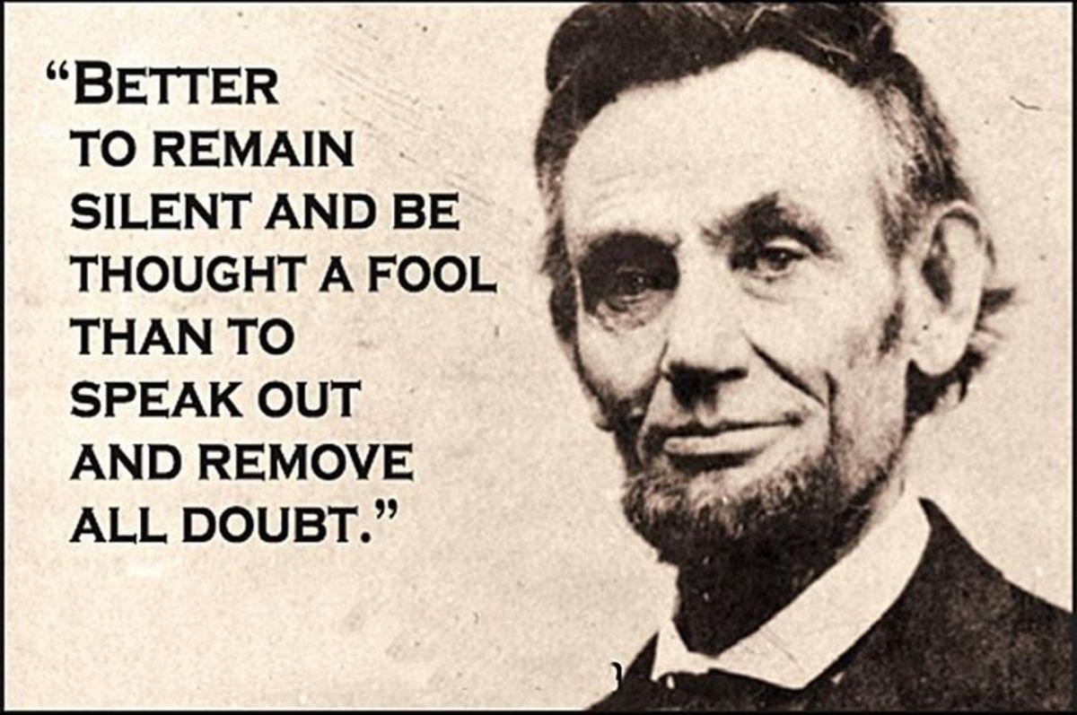 Abraham Lincoln image credit: https://www.pinterest .jp/pin/212795151126894171/