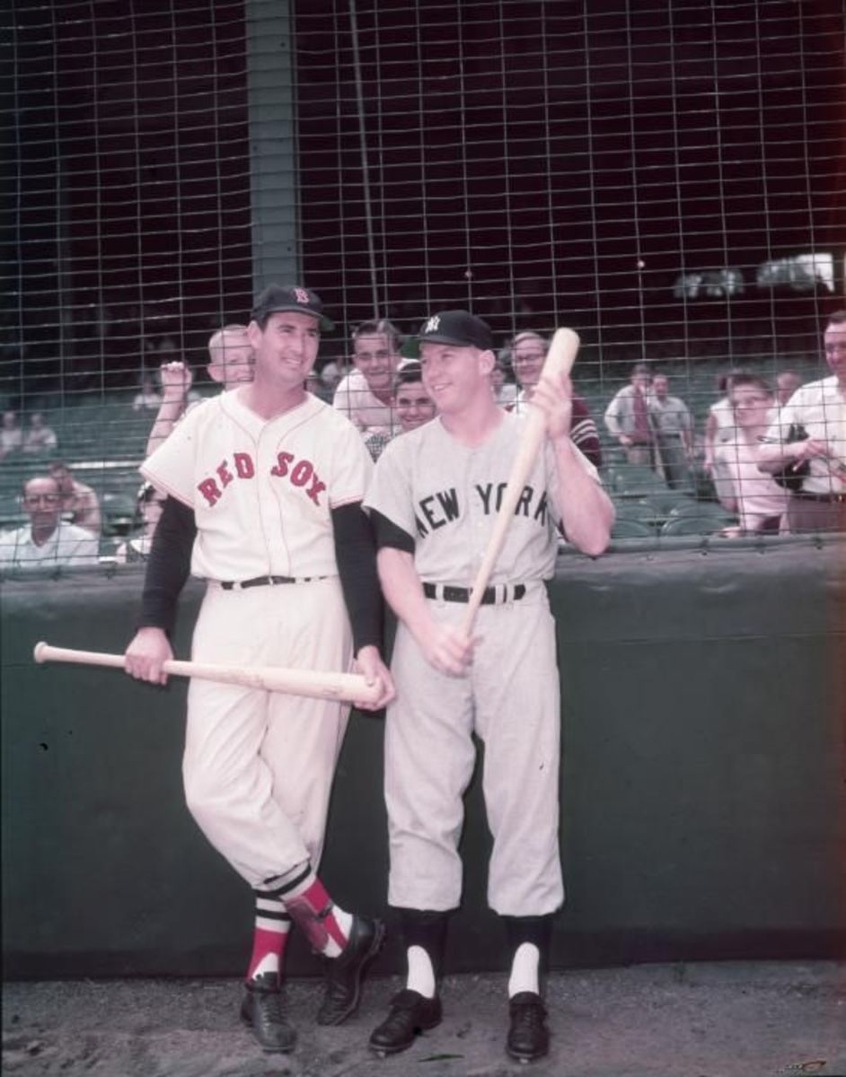 Rivals - Ted Williams and Mickey Mantle