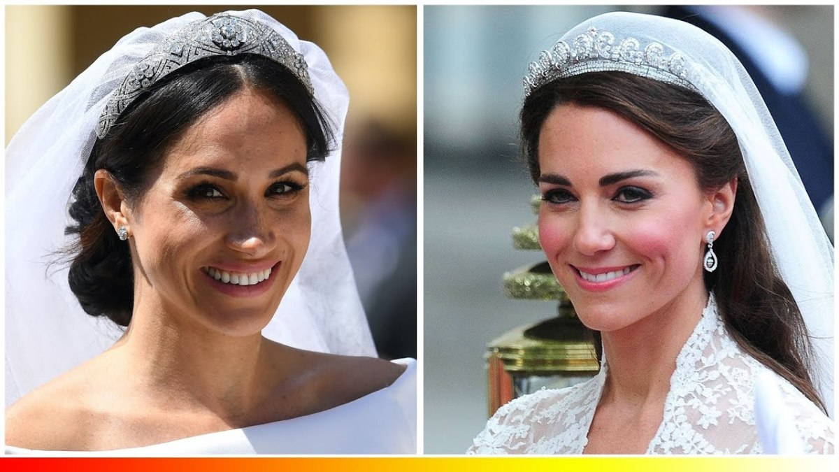 Meghan Markle and Kate Middleton Can Wear Tiaras But the Queen's Granddaughters Can't Wear Them
