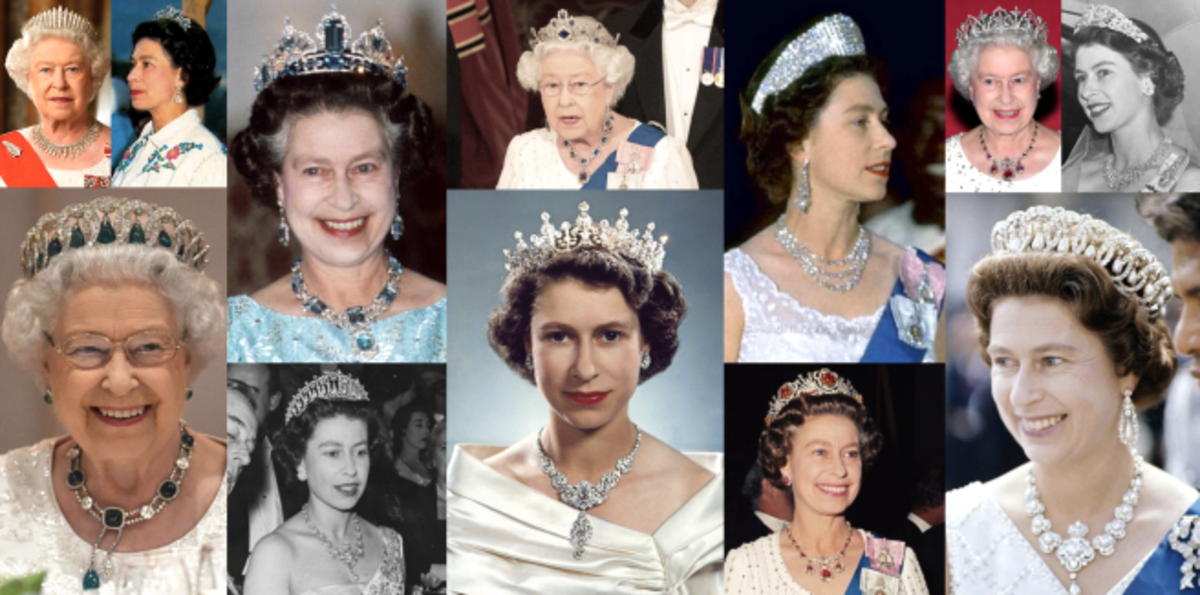 Others have worn some of Queen Elizabeth's tiaras that she hasn't worn herself.