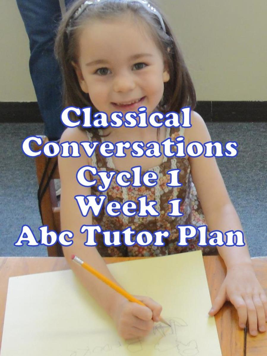 Classical Conversations Cycle 1 Week 1 Abc Tutor Plan - My child is using basic shapes and lines to draw a Sumerian sheep during our OiLs art lesson.