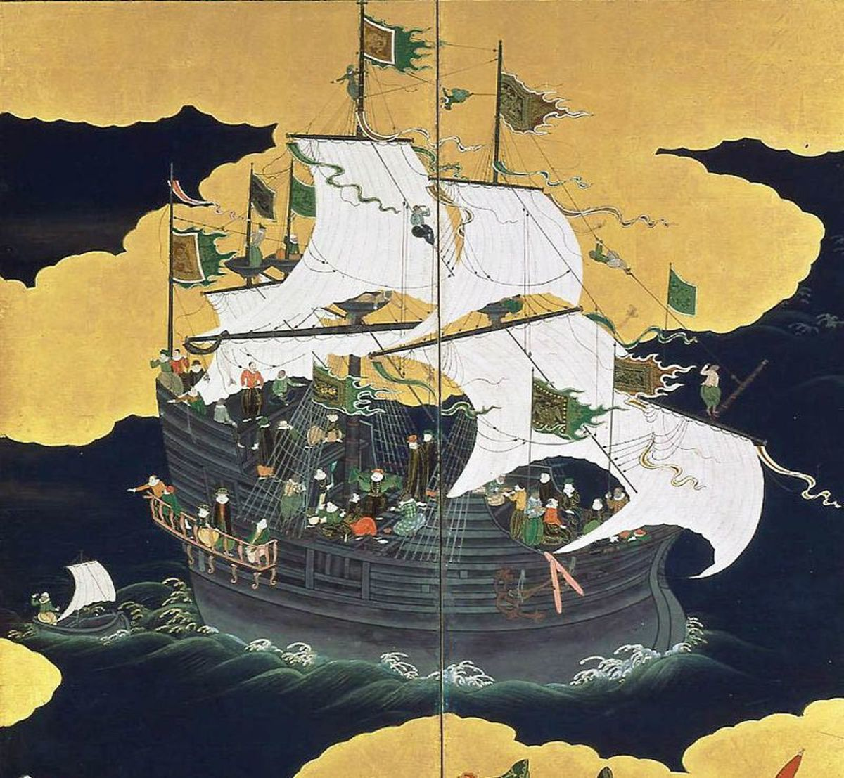 Portugal was the first European nation to establish trade links with China and Japan. Portuguese traders helped to found the city of Nagasaki in 1543.