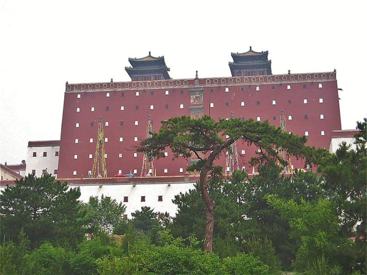 The Putuo Zongcheng Temple of Chengde was first built in the 18th century by the Qianlong Emperor.