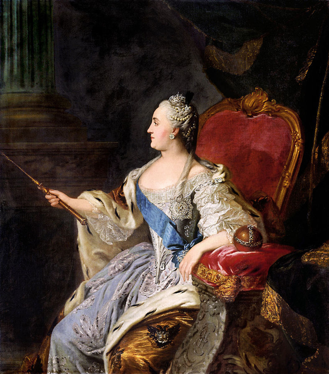 Catherine the Great ruled from 1762 to 1796 oversaw the Empire's greatest expansion period and played a key role in the Russian Enlightenment Movement.