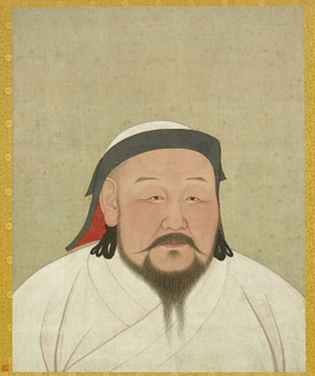 Kublai Khan, a grandson of the legendary Genghis Khan founded the Yuan Dynasty in 1271 AD.