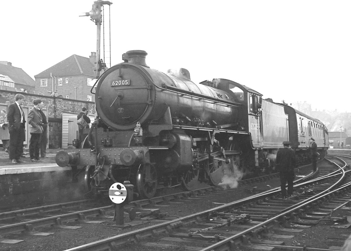 Early in 1965 the Whitby Moors Tour, hauled by K1 62005 and preserved K4 3442 'Great Marquess' let the media know that many cared about closure of the W&PR line south from Grosmont