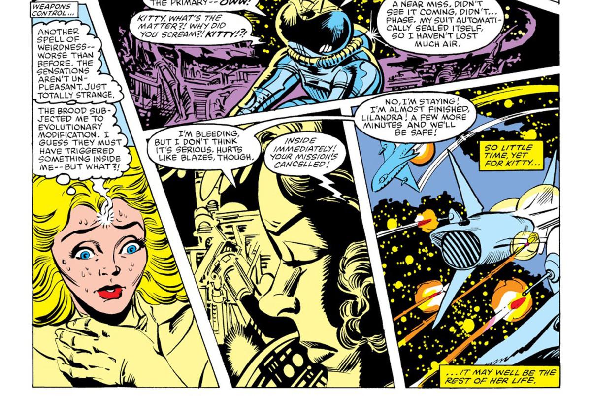 Panels from Uncanny X-Men #164