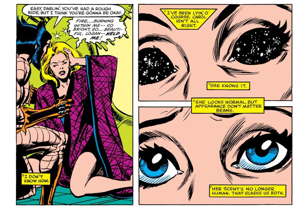 Panel from Uncanny X-Men #163