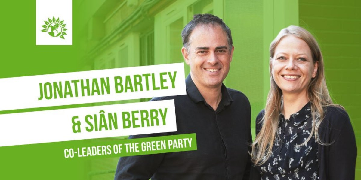 Newly Elected Leaders of The British Green Party