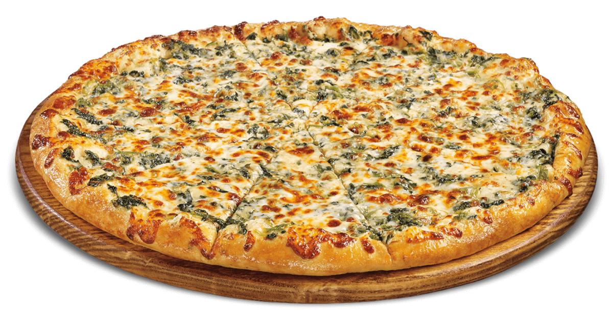 Cici's Spinach Alfredo Pizza