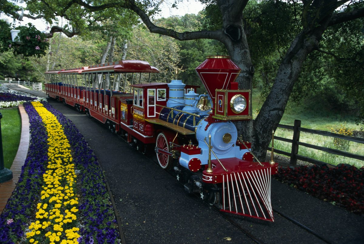 Train at the Neverland Ranch
