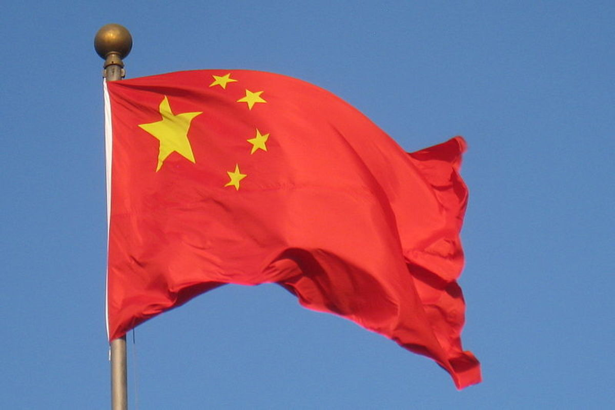 The flag of the People's Republic of China