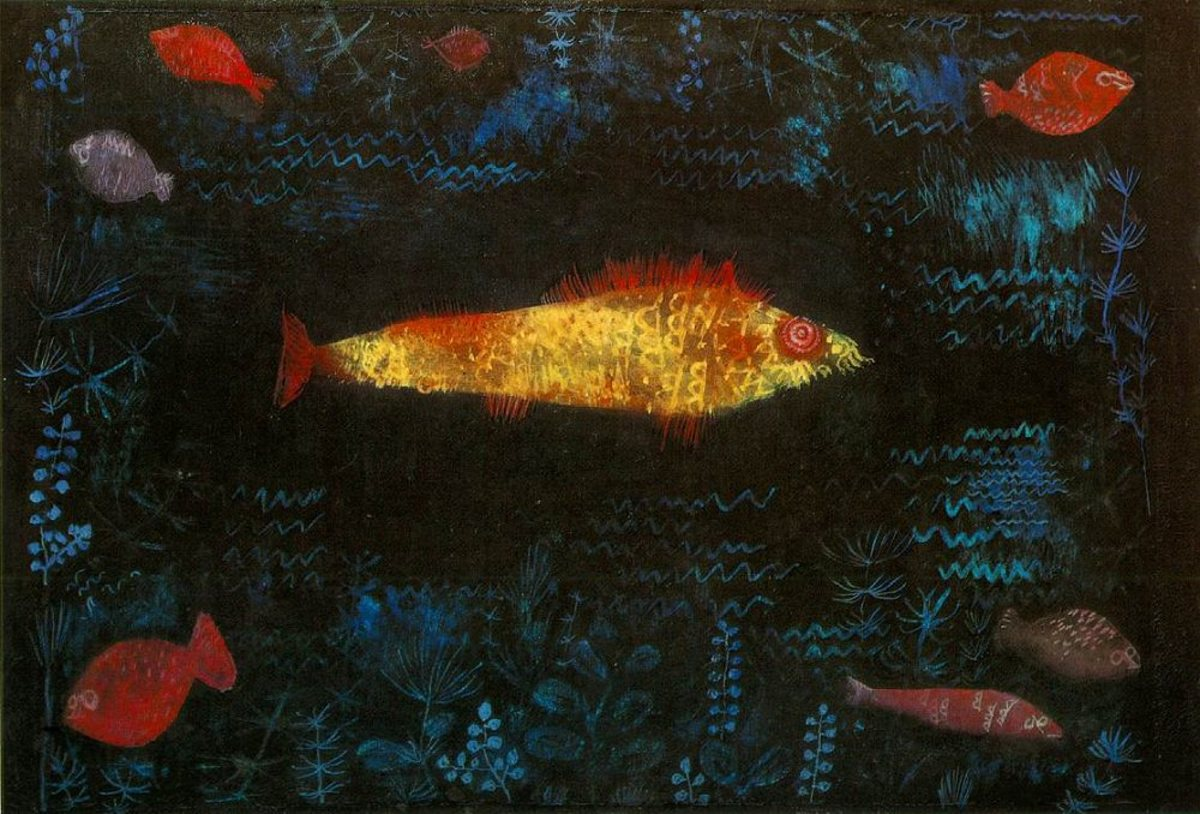 The Goldfish by Paul Klee (1925)