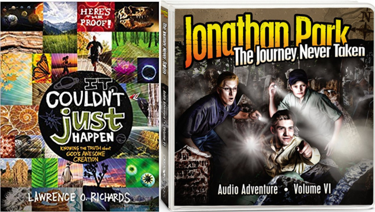 My 2 favorite resources: It Couldn't Just Happen & Jonathan Park
