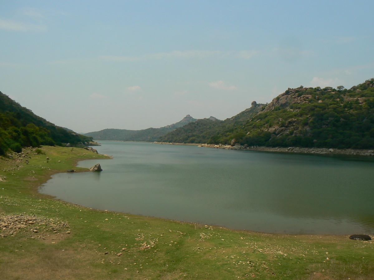 Panchapali Dam near Denkanikottai