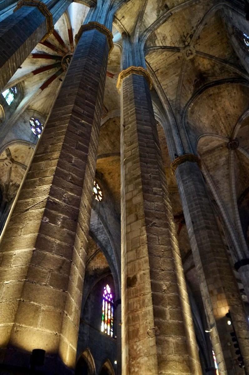 Pillars of Santa Maria del Mar