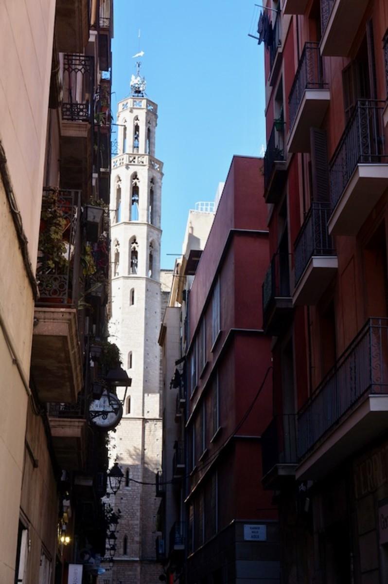 Santa Maria del Mar Basilica in Barcelona