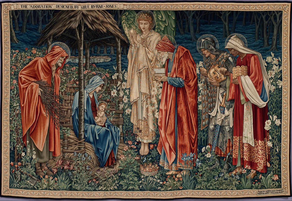 """The Adoration of the Magi"" by Edward Burne-Jones (1904)"