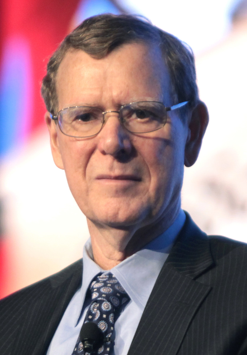 One the leading spokesmen for libertarian ideals today is the objectivist John Allison, IV, a former CEO of BB&T Bank and the CATO Institute.