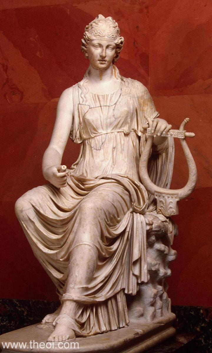TERPSICHORE, goddess of dance